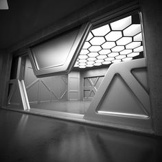 Sci Fi Interior 3D Model on Behance