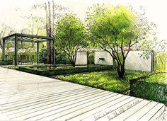 Ogród w Berlinie 1