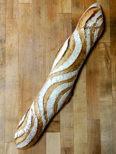 Oooh, this gives me an idea for an indigenous pattern on our baguettes.