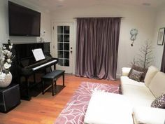 Mount over piano