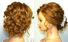 Prom wedding hairstyles, updos for long medium hair. Свадебная прическа,...