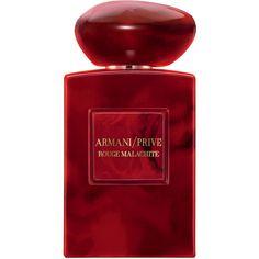 Giorgio Armani Privé Rouge Malachite Eau de Parfum (1.295 RON) ❤ liked on Polyvore featuring beauty products, fragrance, giorgio armani, eau de perfume, eau de parfum perfume, flower fragrance and edp perfume