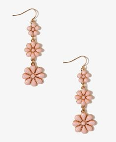 Tiered Daisy Earrings   FOREVER21 - 1021839856