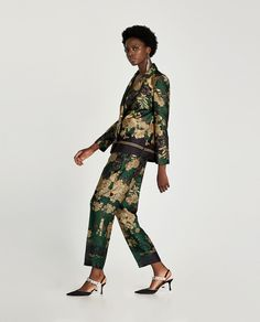 FLORAL PRINT TROUSERS-View all-TROUSERS-WOMAN | ZARA United Kingdom