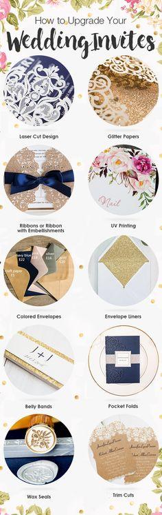 Wedding Invitation Ideas     Creative Ways to Upgrade Your Wedding Invites