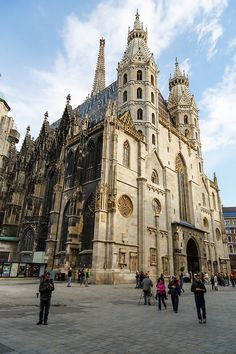 Vienna, Austria St Steven's was the first gothic cathedral I had ever been in - took my breath away!