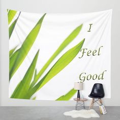 I feel good Wall Tapestry by Tanja Riedel | Society6