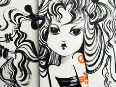 Ruben Toledo's Fashion Illustrations Grace the Elevators at Treasure & Bond