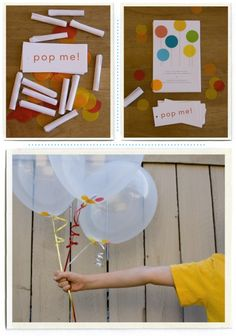 bubbles and balloons party