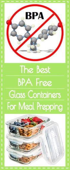 Plastic meal prep containers and food storage meal prep made use only the best bpa free glass food storage containers for your meal prepping find forumfinder Choice Image
