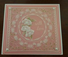 Linda's Hand Made Cards: groovi dt samples - frilly circles, sprig and ne...
