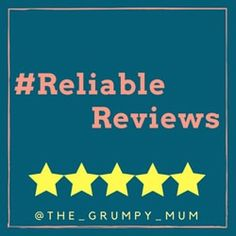 Come and join in with the first ever #ReliableReviews blogging linky. Link up all of your product and service reviews, both good and bad and have fun while networking.