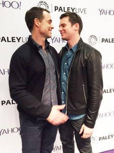 Murray Bartlett and Jonathan Groff