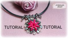 Tutorial perline | Come fare ciondolo con ripple, pip e twin beads | Ripple Sun