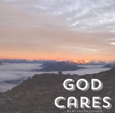 He cares so much that he gave his only begotten son so that you can repent of your sins and be forgiven :)