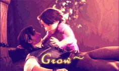 tangled and les miserables (gif)