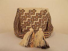 100% auténtico Wayuu Mochila Bolsa De Wayuu Designs