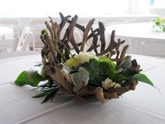 driftwood crafted bowl