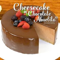 Chesee Cake, Fun Desserts, Dessert Recipes, Chocolate Abuelita, Cake Truffles, Yummy Food, Tasty, Margarita Recipes, Love Eat