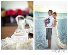 Destination Beach Wedding by Kortni Marie Photography  www.KortniMarie.com