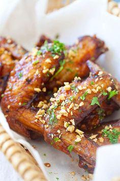 Easy homemade Vietnamese Pok Pok wings marinade with fish sauce.