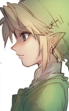 Link looks💚