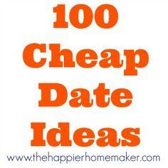 100 Cheap Date Ideas!