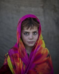 Nazmina Bibi, age 7. |  Since21 the 2002 U.S.-led invasion of Afghanistan, some 3.8 million Afghans have returned to their home country, according to the U.N.'s refugee agency.
