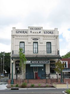 old general store pictures | Panoramio - Photo of Elk Grove Brewery & Old General Store