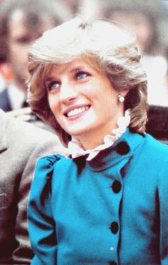 Princess Diana. Those eyes and that smile! Miss them both along with her wonderful laugh!