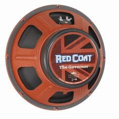 Eminence Redcoat The Governor 12 Inch 8 Ohm 75W Guitar Speaker