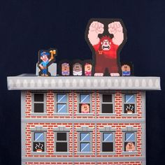 Wreck-It Ralph Playset - Perfect for a movie party!