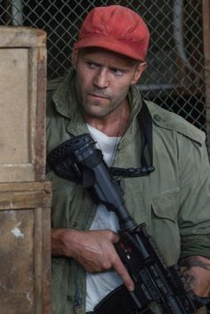 Jason Statham - The Expendables 3 The Expendables, Sylvester Stallone, Kelly Brook, Arnold Schwarzenegger, Jason Statham And Rosie, Hollywood Celebrities, Celebrities Fashion, Hollywood Actresses, Celebs