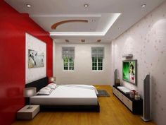 Gypsum False Ceiling Designs Ideas for Lovely Bedroom