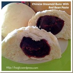 INTRODUCTION This is one of the basic steamed bun recipe with a humble filling of red bean paste. When I was young, it was one of the cheapest steamed buns as compared to the barbecue pork or meat … Asian Steamed Bun Recipe, Red Bean Bun Recipe, Japanese Steamed Buns, Thia Food, Siopao, Asian Cake, Red Bean Paste, Bao Buns, Asian Desserts