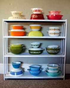 pyrex collection... Want them all!