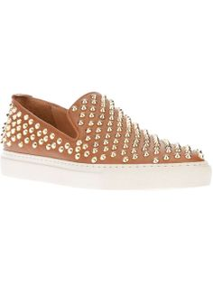 Love the Giacomorelli Studded brown slip on on Wantering | $479 | sale price | Boxing Week for Him | mens slilppers | mens shoes | mens slip on shoes | menswear | mens style | mens fashion | wantering http://www.wantering.com/mens-clothing-item/studded-brown-slip-on/aeGmq/