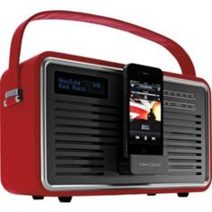 Buy View Quest Retro DAB Radio with iPhone Dock - Red at Argos.co.uk - Your Online Shop for Radios.