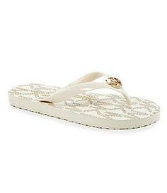 MICHAEL Michael Kors Flip Flop Sandals #Dillards $40