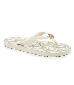 MICHAEL Michael Kors Flip Flop Sandals #Dillards