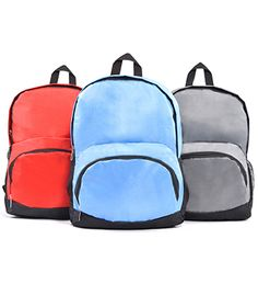 BP 806 Back Pack [BP 806] Size: 27cm(L) x 12cm(W) x 40cm(H) Material: Polyester 1680 D Colour: Red, Light Blue, Grey