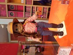 Saige American Girl Doll at ag store in Washington