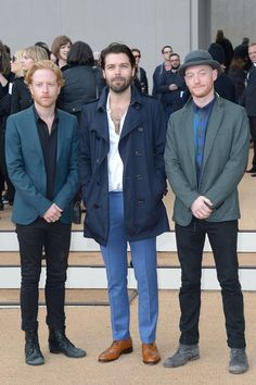 Looking sharp boys! Simon Neil, Biffy Clyro, Much Music, Soundtrack To My Life, Radiohead, Famous Men, Stay Classy, Nice Things, London Fashion