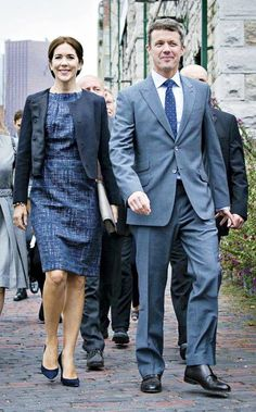 Frederik and Mary attended the official opening of the Danish business delegation in Toronto, Thursday, September 18th: