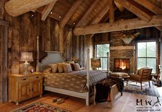 461 best Lodge Style - Bedrooms images on Pinterest | Bedroom ideas ...