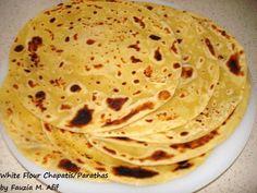 Parathas/Chapatis | Fauzia's Kitchen Fun .... N more on breads  .........................  Blue band margarine - Lachay dar paratha