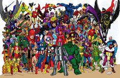 Marvel Comics of the 1980s: Avengers Forever by John Byrne!
