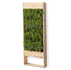Perfect DIY little vertical garden project! Maybe even use our PureBond products! #garden #DIY #PureBond