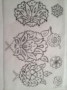 3 Pattern Drawing, Pattern Art, Pottery Patterns, Islamic Art Pattern, Turkish Design, Persian Motifs, Foil Art, Jacobean, Pottery Painting