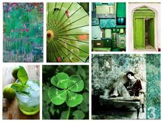Jo's favorite things: the color green